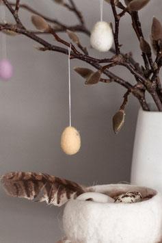 Ostereier hängend, 5er Set
