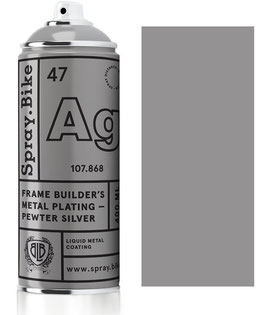Pewter silver 400ml
