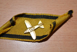 Artikelnummer : 001069/ Tiefflieger Vernichtungsabzeichen golden