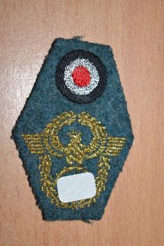 Artikelnummer: 01714  Mützenabzeichen für die Feldmütze Polizei
