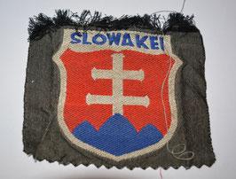 Artikelnummer : 02355  WH Slowakei Ärmelabzeichen