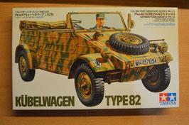 Artikelnummer: 02317  Modellbausatz Kübelwagen Type 82