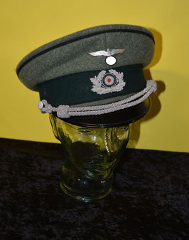Artikelnummer : 01792  Schirmmütze  Offizier Pioniere Wehrmacht