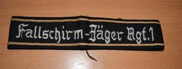Artikelnummer: 02069 Ärmelband Fallschirmjäger-Rgt.1