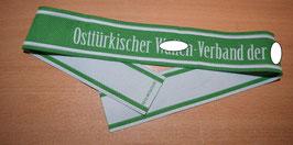 Artikelnummer: 02443  Ärmelband Osttürkischer Waffen XX in Bevo
