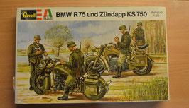 Artikelnummer: 02318  Modellbausatz Zündapp KS 750 BMW R 75