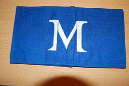 """Artikelnummer :000830/  RLB Reichsluftschutzbund Armbinde """"M"""""""""""