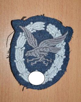 Artikelnummer : 01336 Fliegerschützenabzeichen mit Blitzbündel