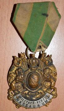 Artikelnummer: 00956 Militärverein um 1920  Nassau & Umg.