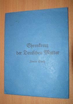 Artikelnummer: 02282 Tüte zum Ehrenkreuz der Deutschen Mutter in Silber ,