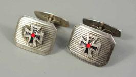 Artikelnummer : 02280  Paar patriotische Manschettenknöpfe