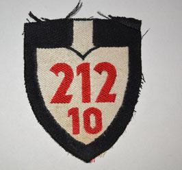 Artikelnummer: 02261 212/10  Armabzeichen/Gebietsspaten