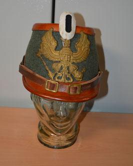 Artikelnummer: 01682  Preußen Tschako für Mannschaften der Maschinengewehr-Abteilungen
