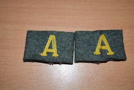 Artikelnummer: 01642 Schulterklappenüberschübe Nachrichtentruppe Heer