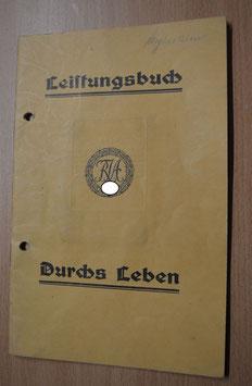 Artikelnummer : 001058/ Leistungsbuch des Reichsbund für Leibesübungen