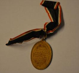 Artikelnummer: 00939 Kriegermedaille - Kyffhäuser- Medaille