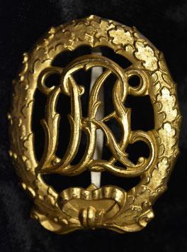 Artikelnummer: 00888 Reichssportabzeichen DRL in Gold ohne HK