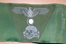 Artikelnummer: 00612  XX Mützenabzeichen Trapetz BEVO grün