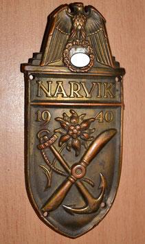 Artikelnummer: 01542  Narvikschild  entnazifiziert