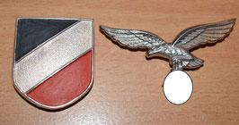 Artikelnummer: 02311 Tropenhelm Abzeichen Luftwaffe Metall