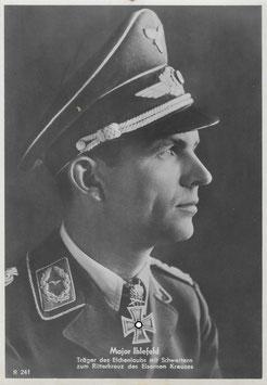 Artikelnummer : 01355 Postkarte  IHLEFELD  Herbert als Major