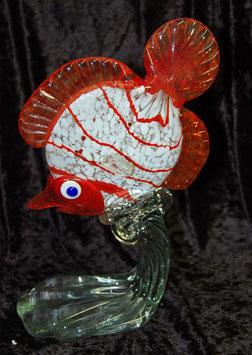 Artikelnummer :000090/ Große Glasfigur,in form eines Fisches ,