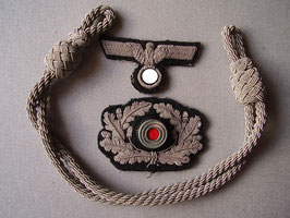 Artikelnummer : 000528/ Satz Heeresoffizier Schirmmützen Effekten