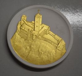 Artikelnummer: 02009 Porzellan-Medaille Eisenach