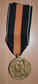 Artikelnummer : 01404 Medaille 1. Oktober 1938