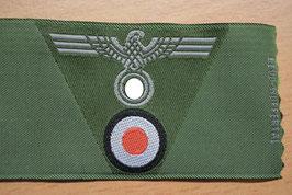 Artikelnummer : 01825 Mützenadler für M43 Einheitsfeldmütze grün