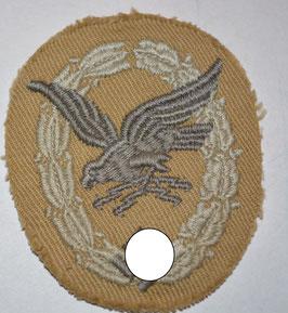 Artikelnummer: 02519 Fliegerschützenabzeichen mit Blitzbündel in Stoff