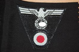 Artikelnummer: 00614 Mützenadler für M43 Einheitsfeldmütze schwarz