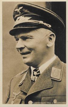 Artikelnummer : 01358 Postkarte Generalfeldmarschall Freiherr von Richthofen