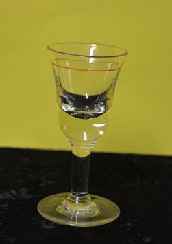 Artikelnummer : 001016/  1 Schnapsglas Rotring Eichstrich