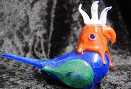 Artikelnummer : 000156/Glasfigur,in form eines Huhn ,Handgefertigt !!!