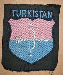 Artikelnummer: 01721  Ärmelschild für Freiwillige Turkistan