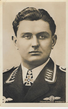 Artikelnummer : 01353 Postkarte Oberfeldwebel STEINBATZ Leopold