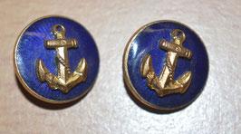 Artikelnummer: 01195 Knöpfe Kriegsmarine mit blauer Emaille