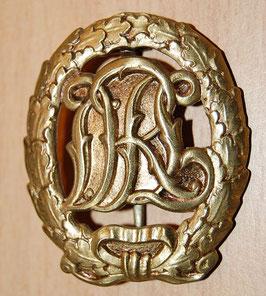 Artikelnummer: 00828 Reichssportabzeichen DRL in Gold