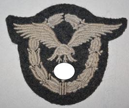 Artikelnummer : 02528 Flugzeugführer Abzeichen in Stoff