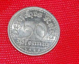Artikelnummer : 000074/Weimarer Republik 50 Pfennig 1919 E