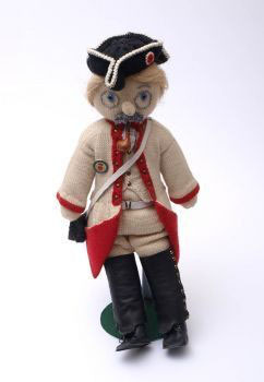 Artikelnummer: 00758 Puppe als Füsiliere