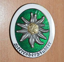 Artikelnummer: 02497 Heeresbergführer Abzeichen