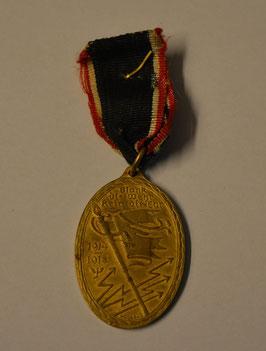 Artikelnummer: 00940 Kriegermedaille - Kyffhäuser- Medaille