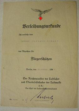 Artikelnummer : 000264/    2 Urkunden + Lot Dokumente , Luftwaffe - 3. Reich