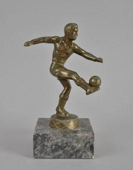 Artikelnummer : 0000380/Fußball-Figur auf Marmorsockel