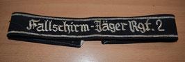 Artikelnummer: 02068 Ärmelband Fallschirmjäger-Rgt.2