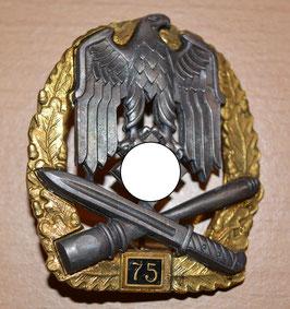 """Artikelnummer: 02526 Allgemeines Sturmabzeichen  Einsatzzahl """"75"""""""