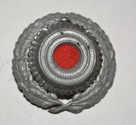 Artikelnummer : 02040 Reichspost/Postschutz Eichenlaubkranz und Kokarde für die Schirmmütze