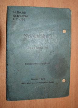 Artikelnummer: 002377   Feldkochbuch der deutschen Wehrmacht